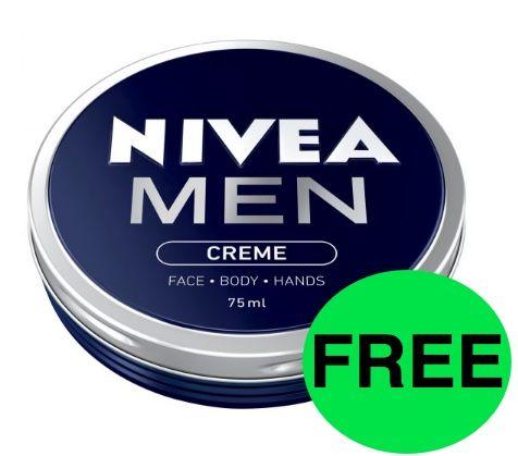 FREE Nivea Men Creme!