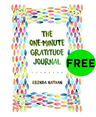 FREE One-Minute Gratitude Journal!