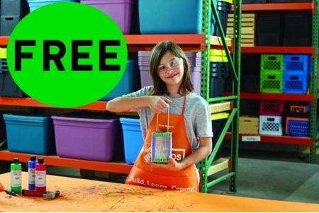 FREE Bug House Craft Event at Home Depot! {Saturday, July 1st. 2107}