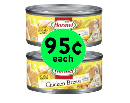 Pick Up Hormel Chunk Chicken Breast for Only 95¢ Each at Winn Dixie! ~ Happening Now!