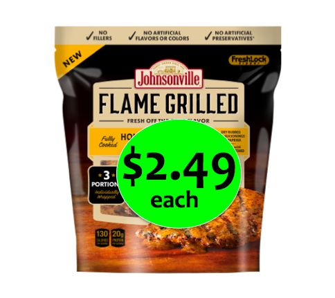 No Fuss Grilled Chicken! Get Johnsonville Flame Grilled Chicken Breasts Only $2.49 Each at Winn Dixie! ~ Going on Now!