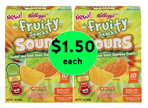More Cheap Snacks! Kellogg's Fruit Snacks As Low As $1.50 Each at Winn Dixie! ~Right Now!