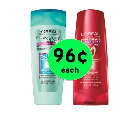 Get Your CHEAP L'Oreal Expert Hair Care for Only 96¢ Each at Walgreens! ~ Starts Today!