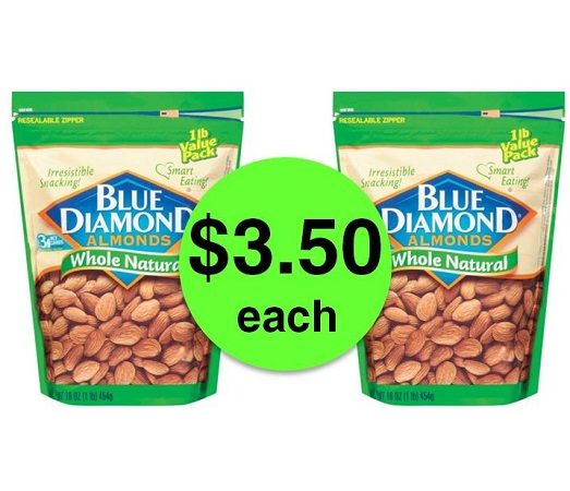 Nutty Deal! Nab Blue Diamond Almond Bags JUST $3.50 Each (Reg. $9) at Publix! ~ NOW!