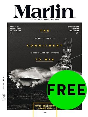 FREE Magazine Subscription to Marlin!