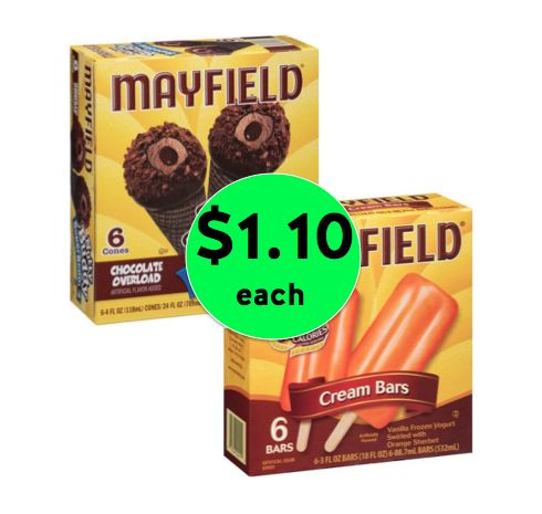Delicious Mayfield Ice Cream Novelties Only $1.10 Each at Winn Dixie! ~ Happening Now!