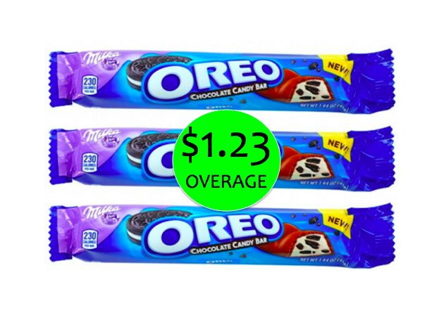 THREE (3!) FREE + $1.23 Overage on Milka Oreo Candy Bars at Walgreens! ~ Ends Thurs!