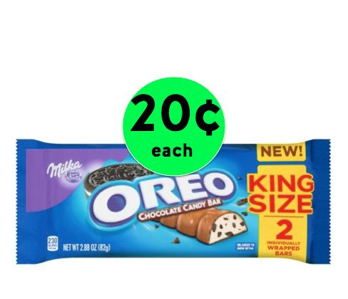Dig Into 20¢ Milka Oreo KING Size Candy Bars at Target! ~ Going On Now!
