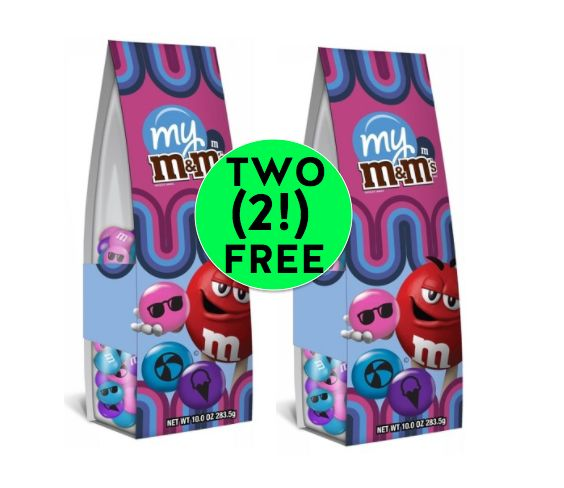 FREE Sweets! Pick Up TWO (2!) FREE M&M's Cool Candies at Target! ~ Ends Saturday!