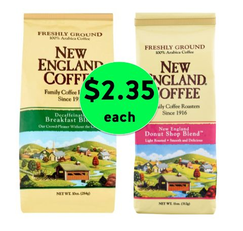 Wake Up with a Deal on New England Coffee! Get TWO (2!) Bags for JUST $2.35 Each at Winn Dixie! ~ Starts Wednesday!