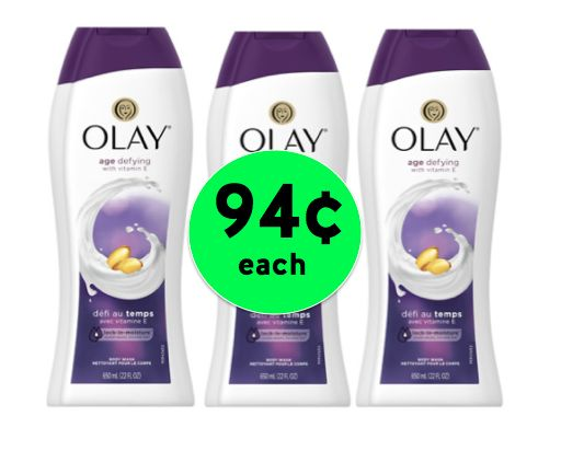Clip Your Coupons NOW for Olay Body Wash Only 94¢ Each at Walgreens! ~ Starts Sunday!