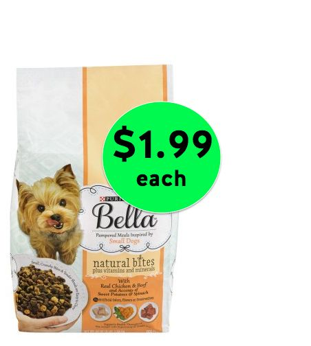Don't Miss Out on Purina Bella Dry Dog Food for Only $1.99 Each at Winn Dixie! ~ Happening Now!