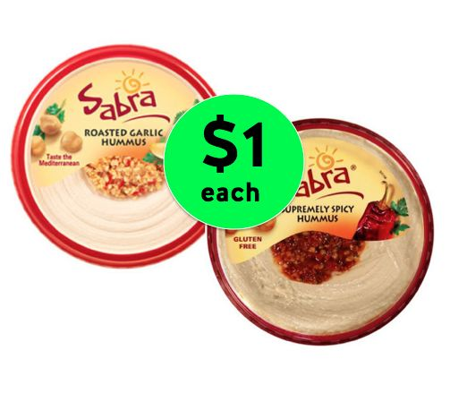 Dip Your Chips in Sabra Hummus Just $1 Each at Winn Dixie! ~ Going On Now!
