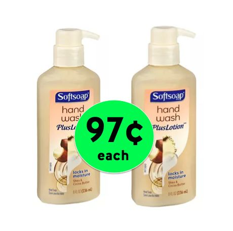 Hydrate Your Hands with TWO (2!) Softsoap Hand Soap Plus Lotion Only 97¢ Each Right Now Walgreens!