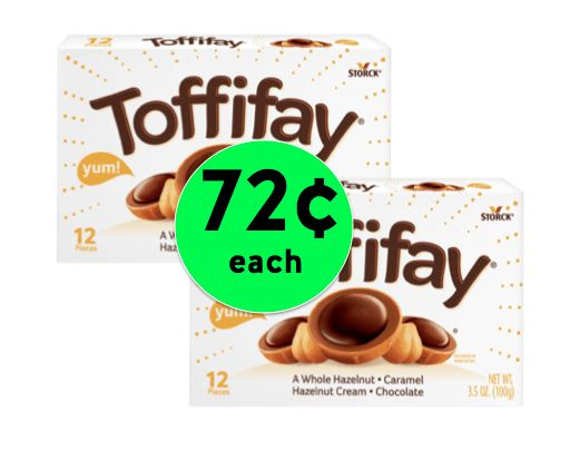 Dig Into 72¢ Toffifay Caramel Chocolate Hazelnut Chewy Candy at Target! ~ NOW!