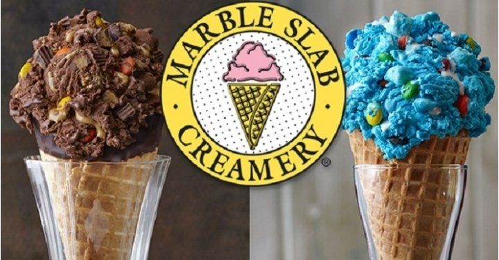 FREE Marble Slab Ice Cream for Ice Cream Month!