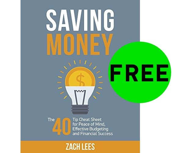 FREE Saving Money Cheat Sheet eBook!