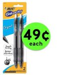 Try Bic Gel-ocity Pens ONLY 49¢ Each at Publix! ~ Ends Soon!