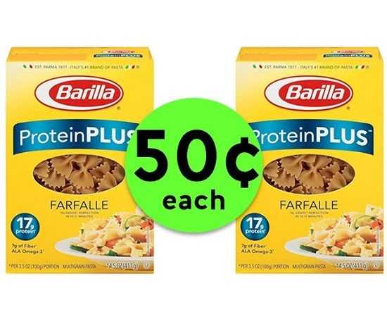 Bump Up the Protein with 50¢ Barilla Protein Plus Pasta {After Rebate} at Publix! ~ Right Now!