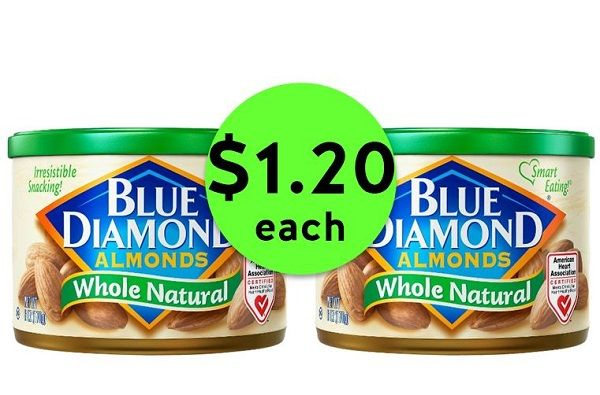 It's Nutty! Pick Up Blue Diamond Almonds ONLY $1.20 Each at Publix! ~ Ends Saturday!