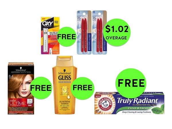 SIX (6!) FREEbies & EIGHT (8!) Deals Just 99¢ Each or Less at CVS! ~ Ad Starts Today!