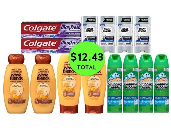 For Only $12.43 TOTAL, Get (2) Toothpastes, (4) Deodorants, (4) Hair Care & (4) Bathroom Cleaners This Week at CVS!