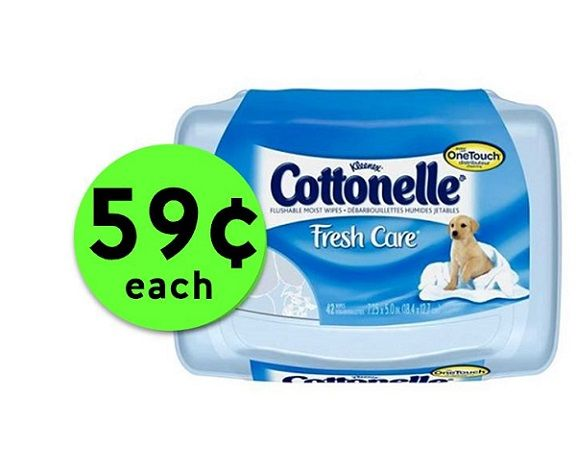 Get Fresh & Clean with 59¢ Cottonelle Fresh Care Wipes at Publix! ~ Starts Saturday!