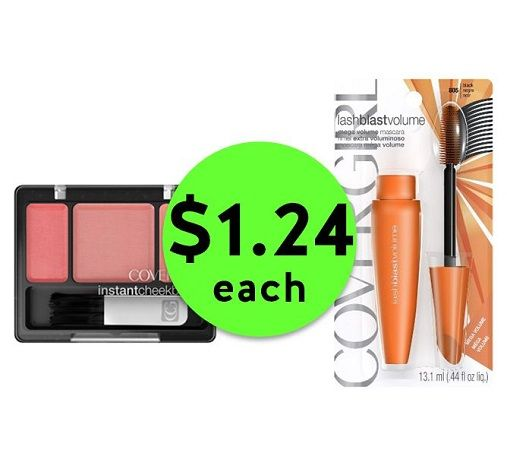 Get that Summer Glow with $1.25 CoverGirl Cosmetics at CVS! ~ Happening Right Now!