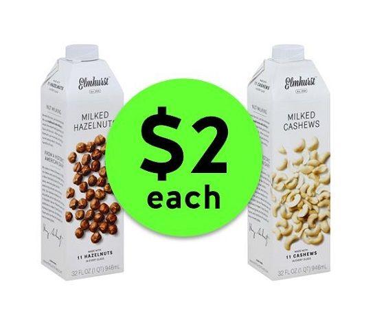 Milk This Deal! Find Elmhurst Nut Milk ONLY $2 Each {Reg. $6} at Publix! ~ Going On Now!
