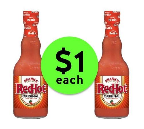 Turn Up the Heat with $1 Frank's RedHot Sauce at Publix! ~ Ends Tues/Weds!