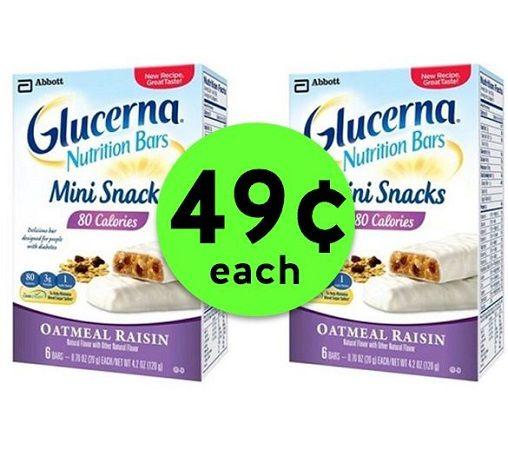 Snack Away on 49¢ Glucerna Nutrition Bars at Publix! ~ Starts Sunday!