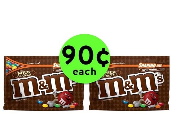 Sweeten Up with 90¢ M&M's Chocolate Candy Bags at Publix! ~ Going On Now!