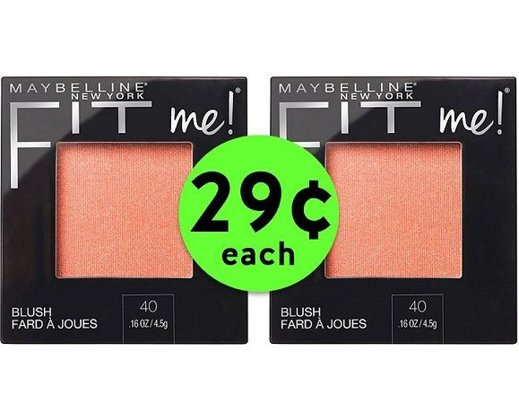 Brush On 29¢ Maybelline Fit Me! Blush at CVS! ~ Going On Now!