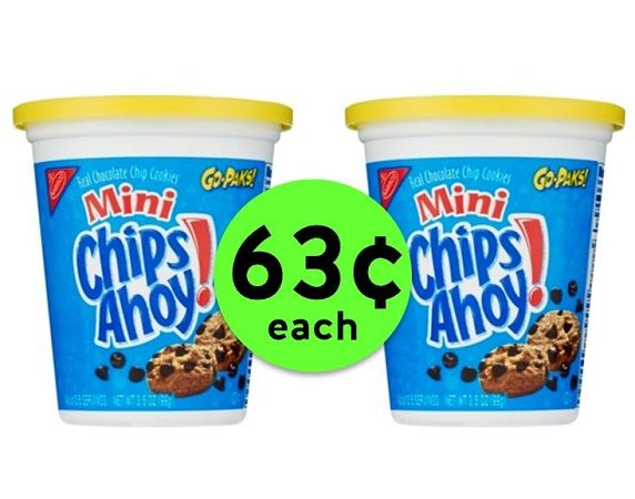 Pick Up Nabisco Cookie or Cracker Go-Packs JUST 63¢ Each at CVS! ~ This Week Only!