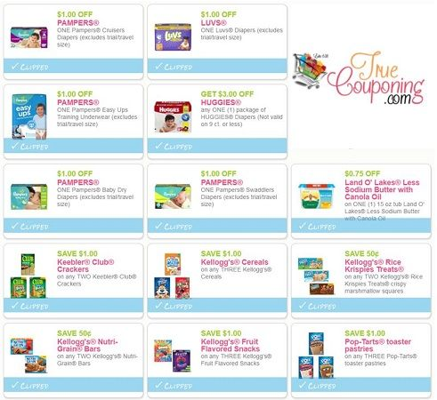 GRAB These Fifty-Eight (58!) *NEW* Coupons That Came Out This Weekend! ~ Print NOW!