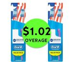 TWO (2!) FREE + $1.02 OVERAGE on Oral-B Indicator Toothbrush Multipacks at CVS! ~ Going On Now!