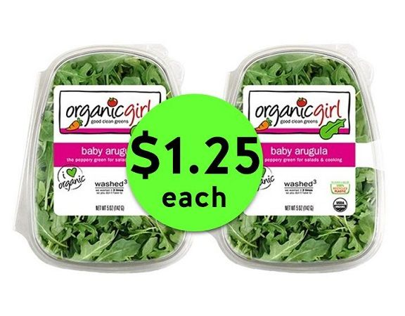 Nab OrganicGirl Salad Mixes ONLY $1.25 Each at Publix! ~ Ends Tues/Weds!