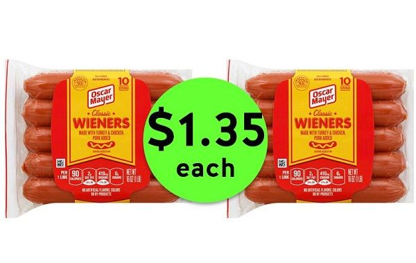 Don't Miss Out on $1.35 Oscar Mayer Hot Dogs at Publix! ~ Ends Tues/Weds!