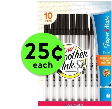 Check Off Your List with Paper Mate Pens 10 Pack JUST 25¢ Each at CVS! ~ Going On NOW!