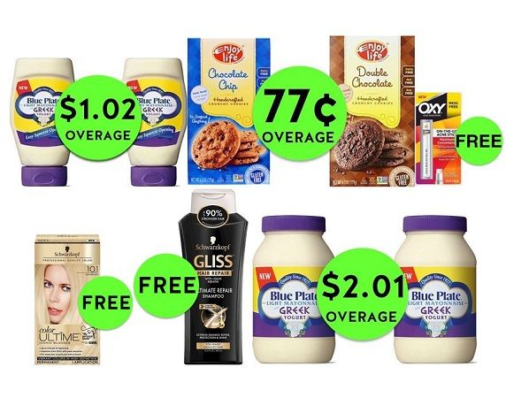 Did You SEE the NINE (9!) FREEbies (+$3.19 in OVERAGE) & EIGHT (8!) Deals Just 50¢ Each or Less at Publix?! ~ Starts Weds/Thurs!