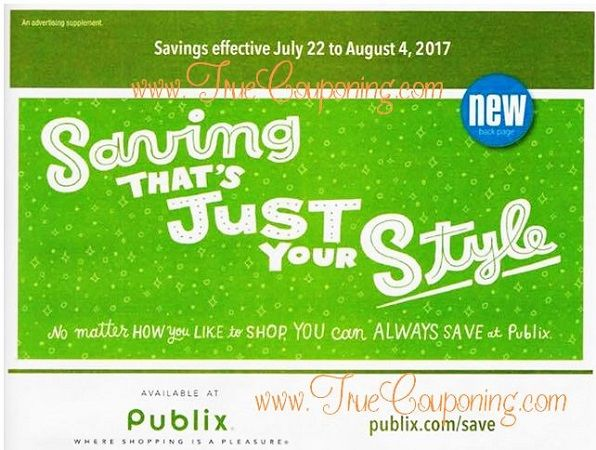 Guess What Time It Is? Publix Green Flyer Time! And This Ad Has SIX (6!) Deals $1 or Less! Whoa! {Ad Runs 7/22 – 8/4}