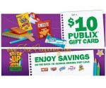 """Publix """"FREE $10 Publix Gift Card wyb $30 of Select Kellogg's Items"""" Kellogg's Happy New School Year Offer! (Valid 7/30 – 9/11/17)"""