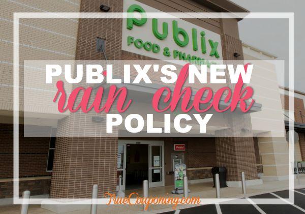 publix raincheck policy