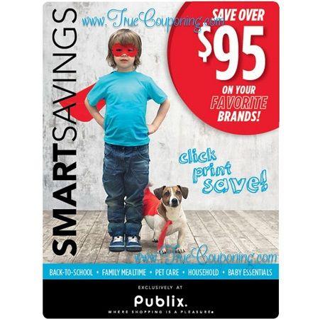"Publix ""Smart Savings"" Coupon Booklet & Printables! (Valid through 7/22 – 8/20)"