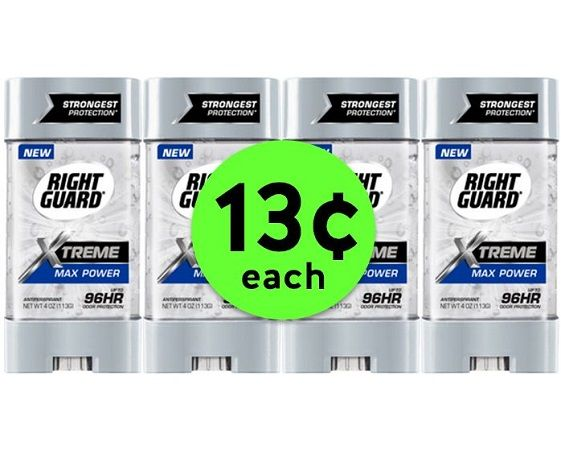 Stock Up on 13¢ Right Guard Xtreme Deodorant at CVS! ~ Going On Now!