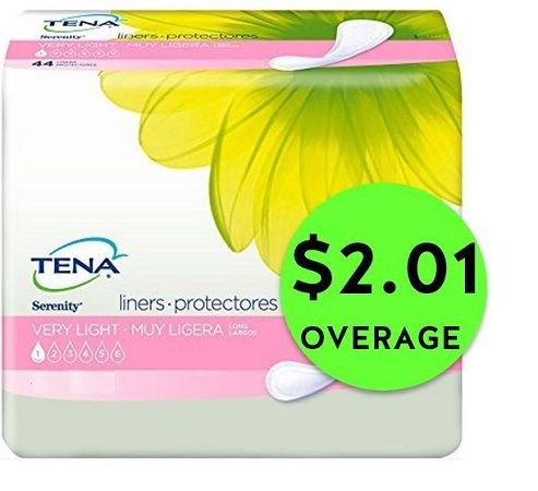 HURRY Into CVS for FREE + $2.01 OVERAGE on Tena Liners {After Rebate}! ~ Ends Wednesday!