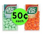 Freshen Your Breath with 50¢ Tic Tacs at Publix! ~ Starts Saturday!