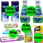 Don't Miss Your ONE (1!) FREEbie & TEN (10!) Deals Just 99¢ or Less at Walgreens!