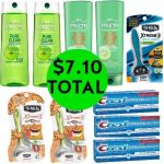 For $7.10 TOTAL, Get (3) Schick Xtreme Razors Packs, (4) Garnier Hair Care, & (3) Crest Pro-Health Toothpastes This Week at Walgreens!
