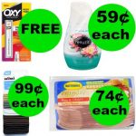 Don't Miss Your ONE (1!) FREEbie & Eleven (11!) Deals Just 99¢ or Less at Walgreens!